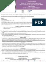 Convocatoria Titulacion Especialidad 2019-1