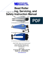 Manual de usuario Bead Roller