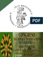 Catarata Senil Congreso Nacional Geriatria