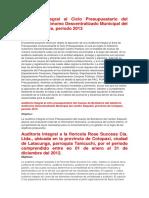 Auditoría Integral al Ciclo Presupuestario del Gobierno Autónomo Descentralizado Municipal del cantón Pastaza.docx