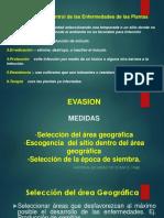 Clase 4- Manejo Por Evasion y Exclusion-fitopatologia Aplicada 2016