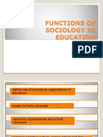 Chapter 2 (Latest) - Function of Sociology in Education