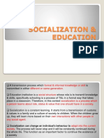 Chapter 4 (Latest) - Socialization School Culture (1)