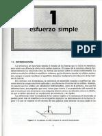 Capitulo 1 Esfuerzo Simple