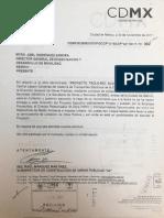 Semovi entregó con un año de retraso proyecto ejecutivo para el Trolebici