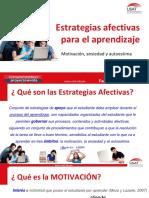 Estrategias Afectivas y Aprendizaje (1)