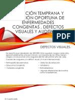 Detección Temprana y Atención Oportuna de Enfermedades Congenitas