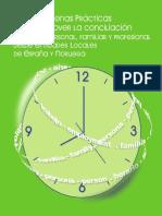 Guía de Buenas Practicas Para Promover La Conciliación....España y Noruega