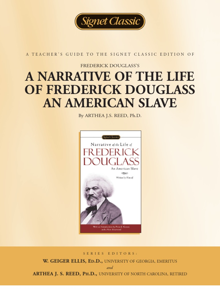 Frederick douglass narrative abolition essay
