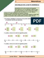 6to Grado - Matemáticas - Fracciones y decimales en la recta numérica.pdf