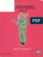 Juan Tamariz - 5 Points in Magic