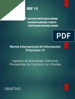 Norma Internacional de Información Financiera 15