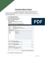 Authorization Object J 1IG GST