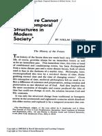Luhmann 1976 The future cannot begin.pdf