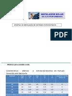 2 -APOSTILA DE INSTALA��O SISTEMAS SOLARES FOTOVOLTAICOS