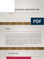 Interpretasi data Lipid