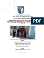 Investigacion Investigacion Albañileria Final 2017 II