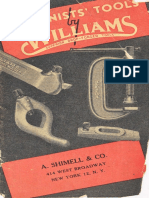 Machinists Tools by Williams 1944
