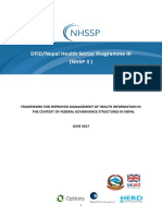 NHSP IIIFramework for Improved Health MIS June2017