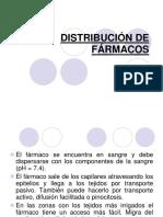 Distribucion de Farmacos