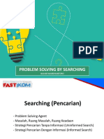 Problem Solving by Search Strategy