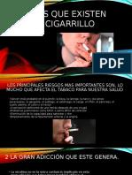 Riesgos Que Existen Con El Cigarrillo