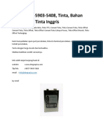 (T-sel)0857-5903-5408, Tinta, Komposisi Tinta Percetakan Offset, Tentang Cetak Offset