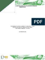 Fase 2 - Metodologías de Evaluación de Riesgos Ambientales (2)