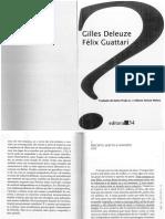 Deleuze - Percepto, Afecto, Conceito