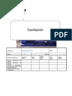 cavitacion ´´IV´´ sec ´´C´´.