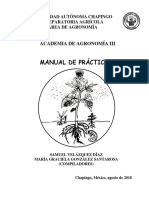 Agronomía III Manual 2018