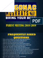 Algonac 2018 Parents Meeting