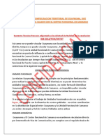 2 Sustento Tecnico Casma Distrito No Puede Ser Unidad Funcional de Guaynuma