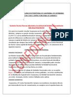 3 Sustento Tecnico Samanco No Puede Ser Unidad Funcional de Guayunuma