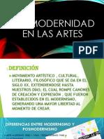 POSMODERNIDAD EN LAS ARTES.pptx