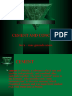 Cement and Concrete