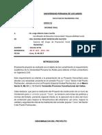 Informe 05- Proyeccion Social
