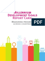 Millennium Development Goals Mdg Report Card 2010