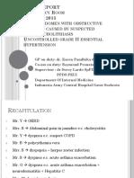 Abdominal Pain With Choledecolhitasis