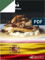 Menu Comidas y Cenas España Nov 2018