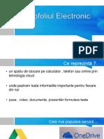Portofoliul Electronic