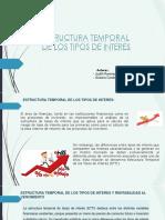 Ppt Estructura Temporal Tasas
