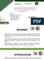 Descripción y Análisis del instrumento de Supervisión Integral a Redes de Salud