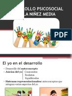 Desarrollo Psicosocial en La Niñez Media