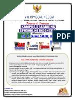 09.01 Cpns Pendidik - Soal Ujian Kompetensi Pengajar - Cpnsonline.com