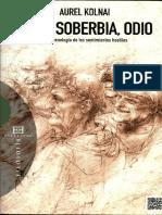 Asco, Soberbia y Odio-Aurel Kolnai