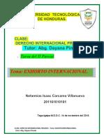 Exhorto Internacional
