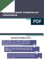 Pelayanan Resep Narkotik Dan Psikotropik