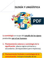 Semiologia y Linguistica