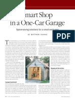 Smart Shop in a One Car Garage